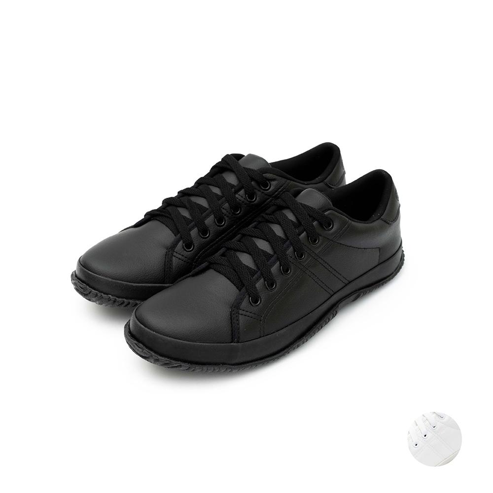 ARRIBA艾樂跑男鞋-簡約百搭休閒鞋-黑/白(AB8094)