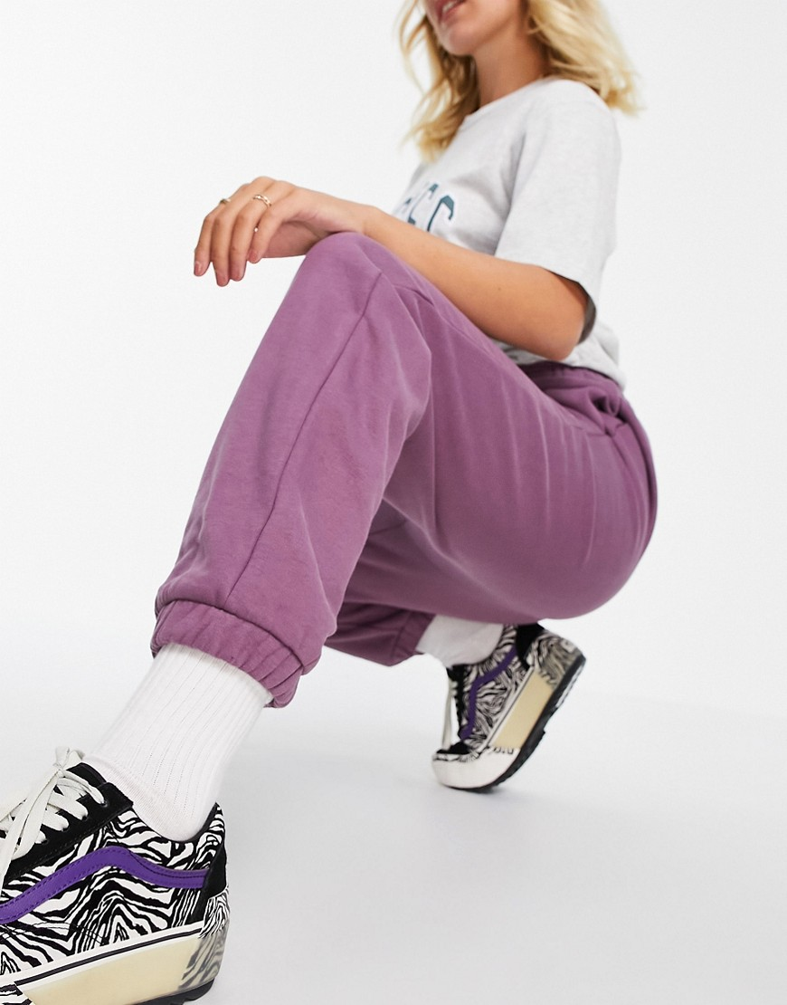 Dickies Mapleton oversized joggers in purple