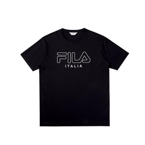 FILA 圓領T恤-黑色 1TEV-1458-BK