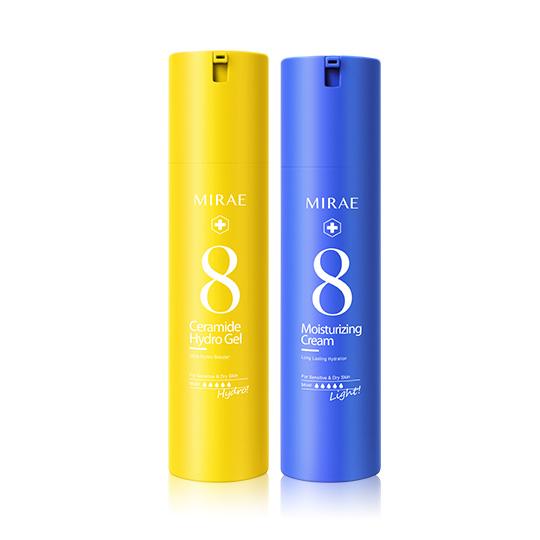 【未來美】速效保濕水精華+速效輕乳霜(保濕/亮白 任選)