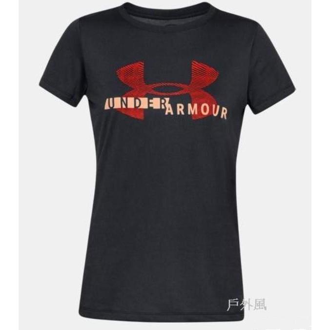 UNDER ARMOUR女 UA Tech排汗快乾短T-Shirt
