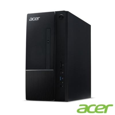 (福利品)Acer TC-875 十代i7八️️️核桌上型電腦(i7-10700/8G/1T/Win10h)