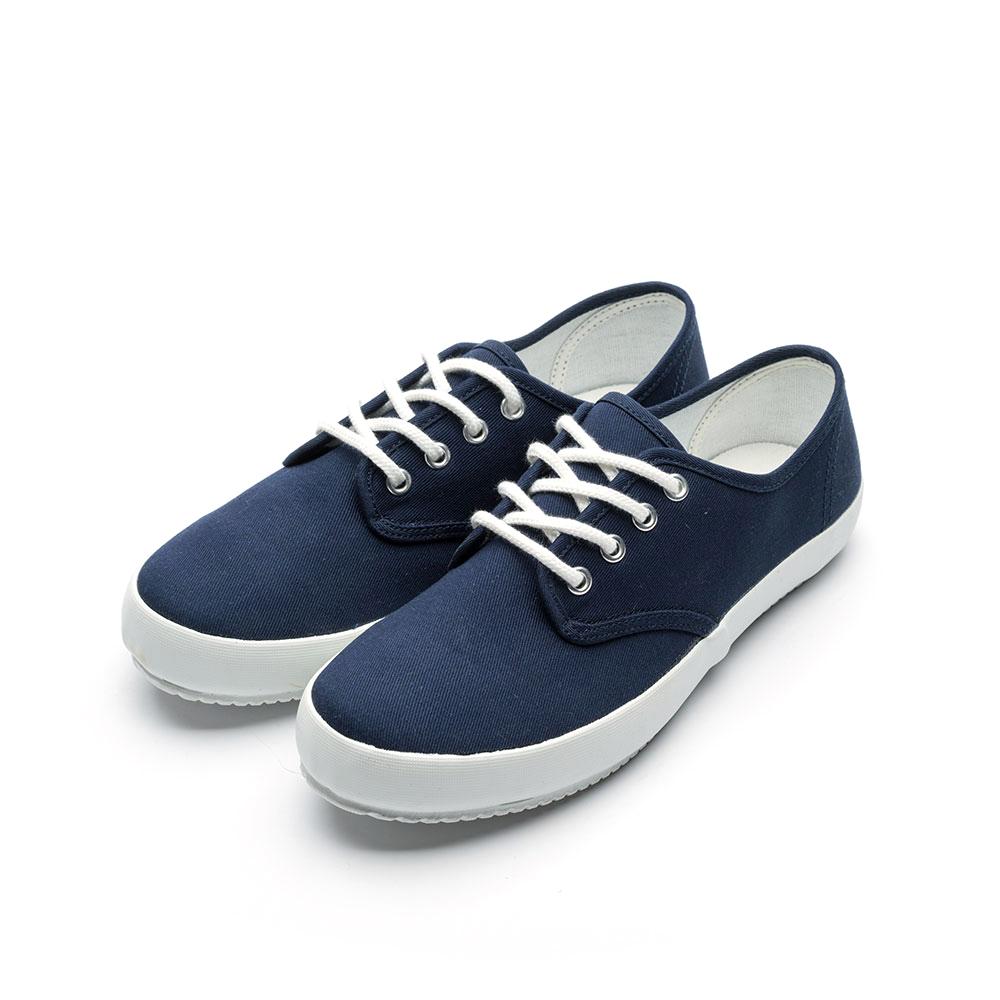 ARRIBA艾樂跑女鞋-休閒帆布鞋 便鞋-藍/粉(AB8083)