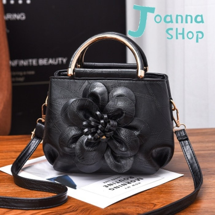 新中國風立體花雕手提斜背包1-Joanna Shop