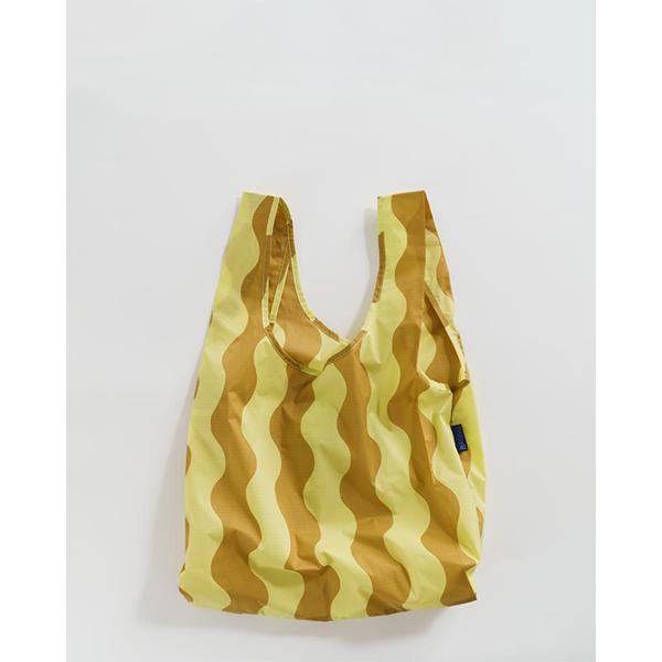 《BAGGU》口袋購物袋(M)-金黃波浪