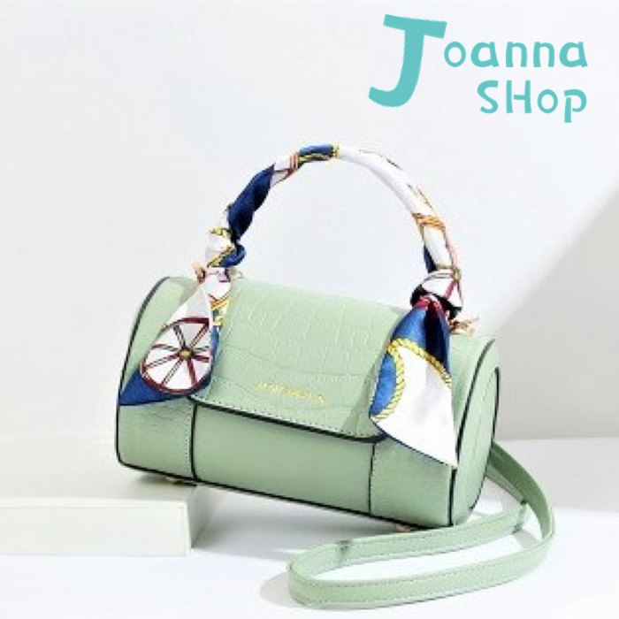 網紅HOT韓版圓筒逛街拍照手提協背包1-Joanna Shop