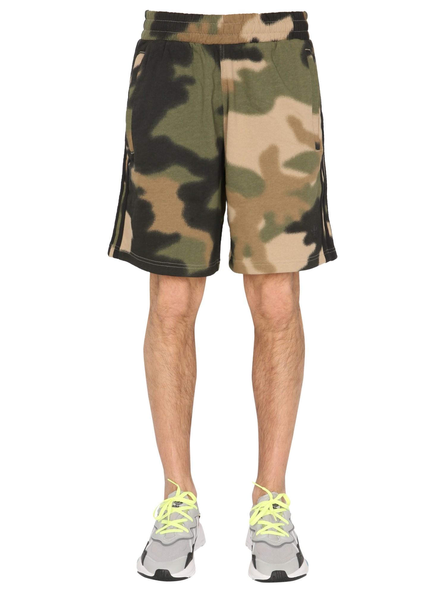 adidas originals shorts in felpa