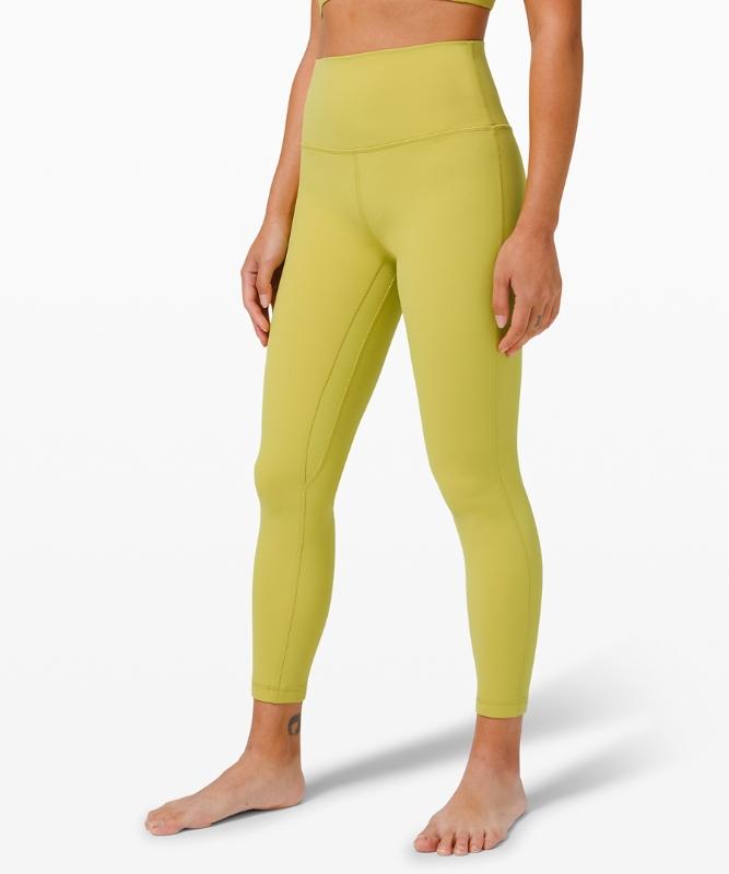 "Lululemon Women's Align High-Rise Yoga Pants 24"" Asia Fit, Size Xs"