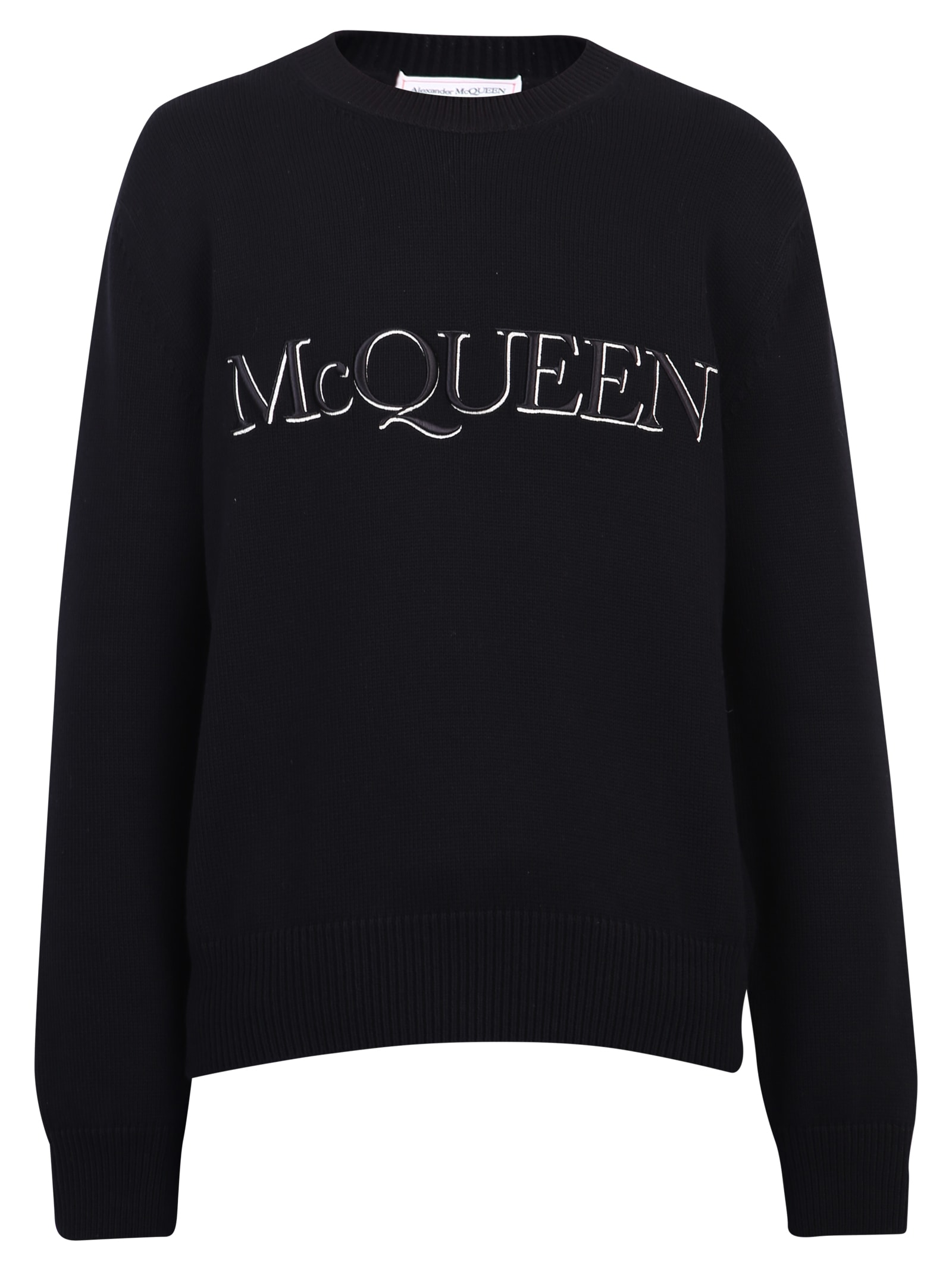 Alexander McQueen Branded Sweater