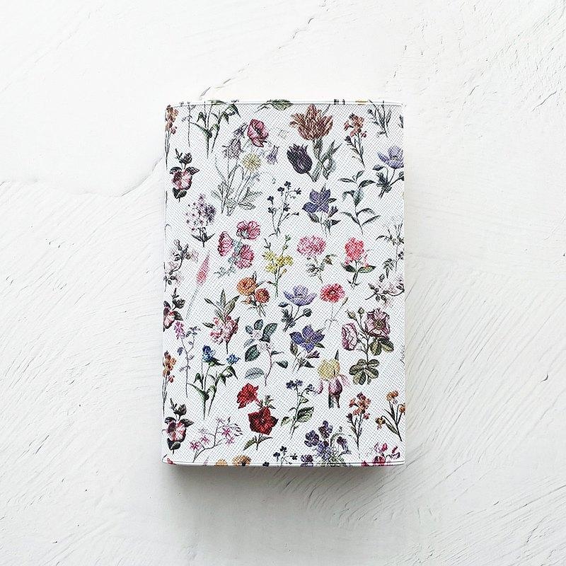 書封面 FLORAL FLOWER白/ 書 BOOK 平裝書花花卉圖案
