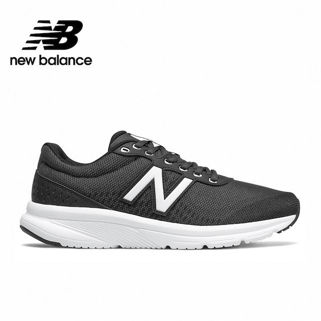 【New Balance】輕量跑鞋_男款_黑色_M411LB2-2E楦