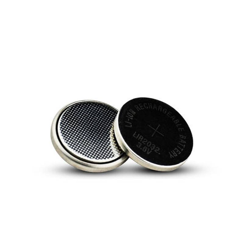 LIR2032 3.6V 鋰電充電 水銀電池 充電鋰離子電池 可代替 CR2032 電池