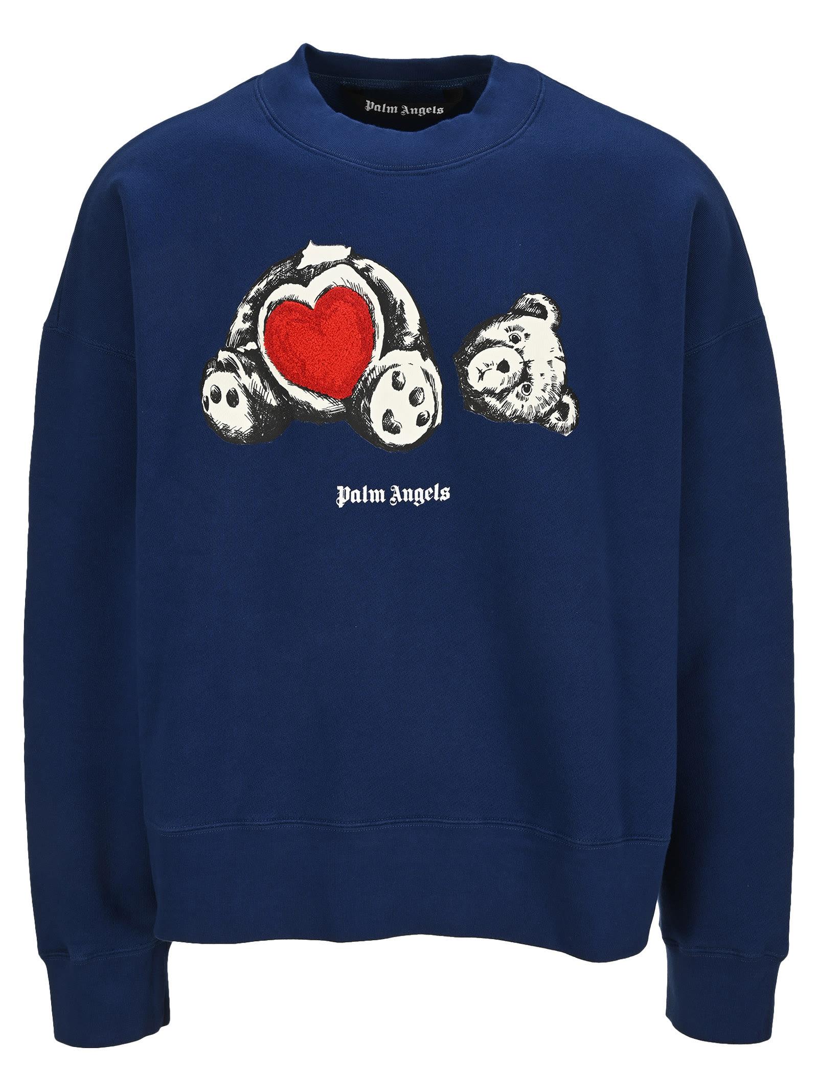 Palm Angels Bear In Love Sweatshirt