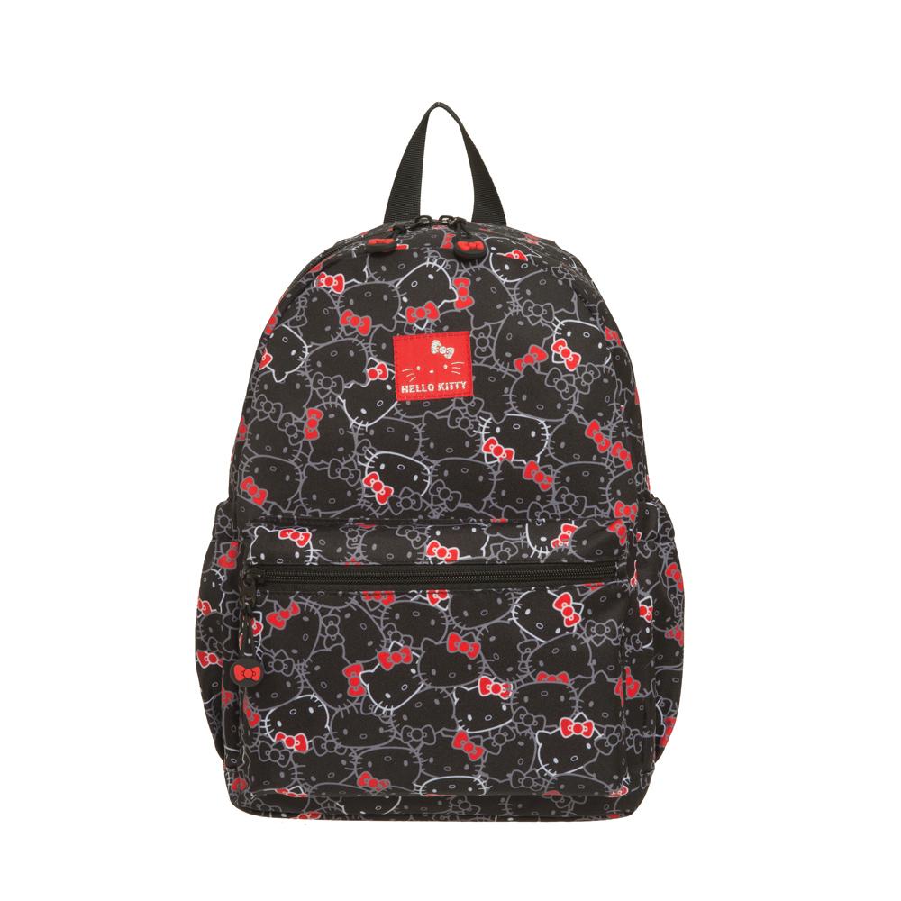 【Hello Kitty】繽紛凱蒂-後背包-黑 KT01V01BK