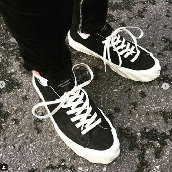 隱形襪加購價只要$1元韓國AGE奶油年輪低筒蛋糕鞋-黑