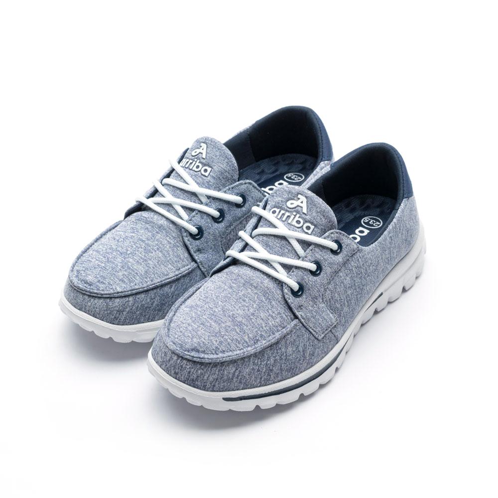 ARRIBA艾樂跑女鞋-舒適輕量休閒鞋-灰藍/紫/藍(FA525)