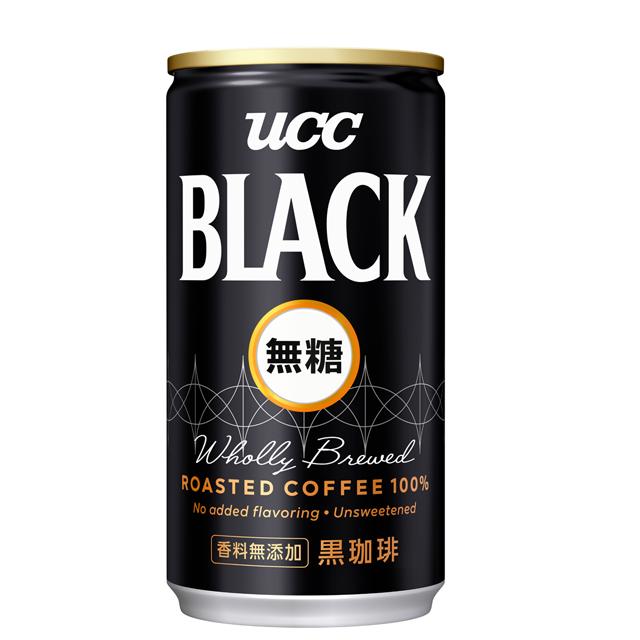 《UCC》無糖咖啡飲料185g(30入/箱)X2