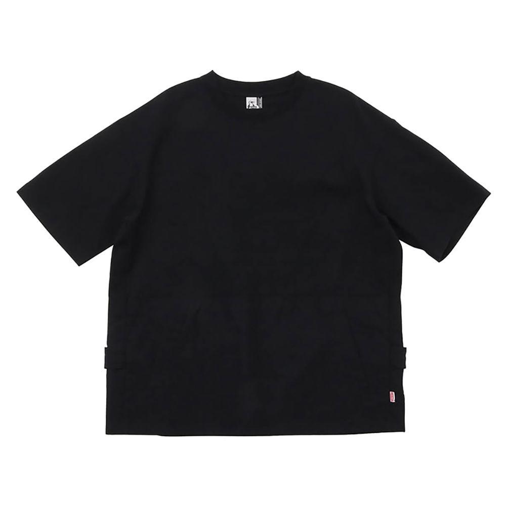 CHUMS HW Backside Utility Pocket T-Shirt 男 短袖上衣 黑
