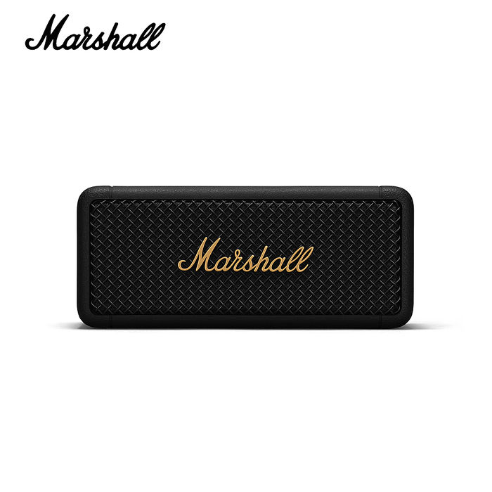 Marshall EMBERTON BLACK AND BRASS 攜帶式藍牙喇叭-限量古銅黑