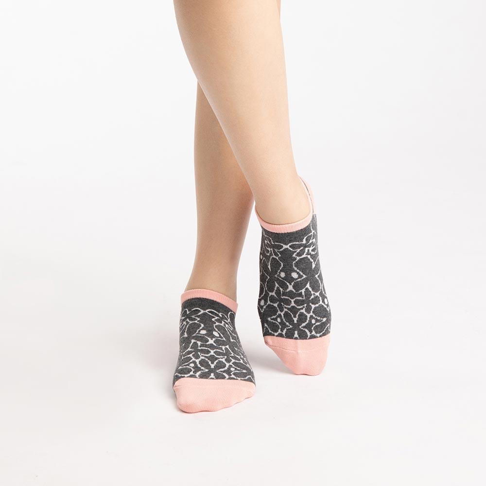 【M號】幸花村淑女船型襪-粉 (商品編號:S0519681M)