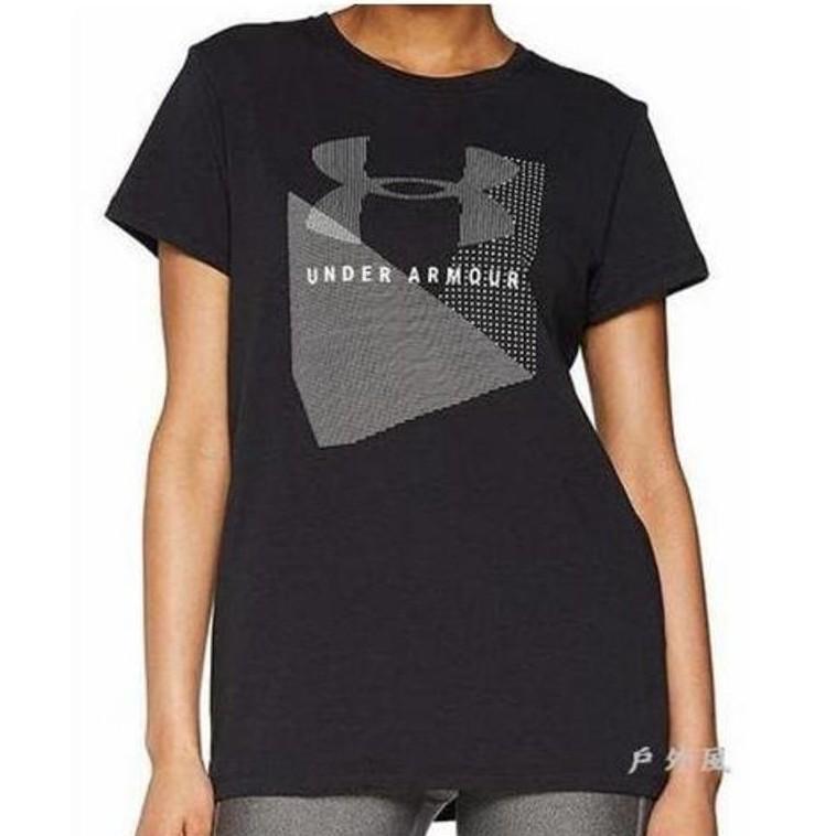 UNDER ARMOUR女 HG Sportstyle Mesh Logo 短袖上衣