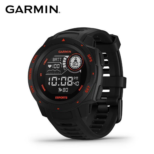 GARMIN INSTINCT ESPORTS 本我系列 GPS 智慧腕錶 - 電競潮流版