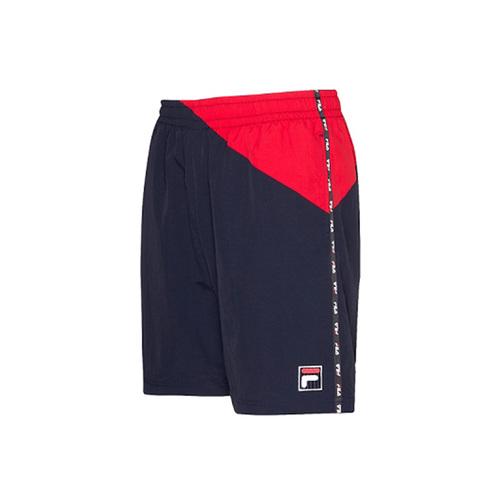 FILA #NEWTRO MANIA 平織短褲-丈青 1SHV-1443-NV