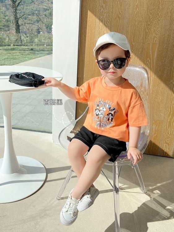 男童短褲 嬰兒休閒短褲子夏裝夏季男童兒童裝中褲寶寶小童1歲3薄款潮X2455 愛尚優品