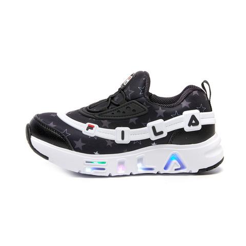 FILA KIDS GGUMI 中童電燈鞋-黑 2-C141V-112