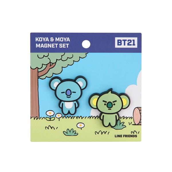 BT21滴膠磁鐵 KOYA款 【康是美】
