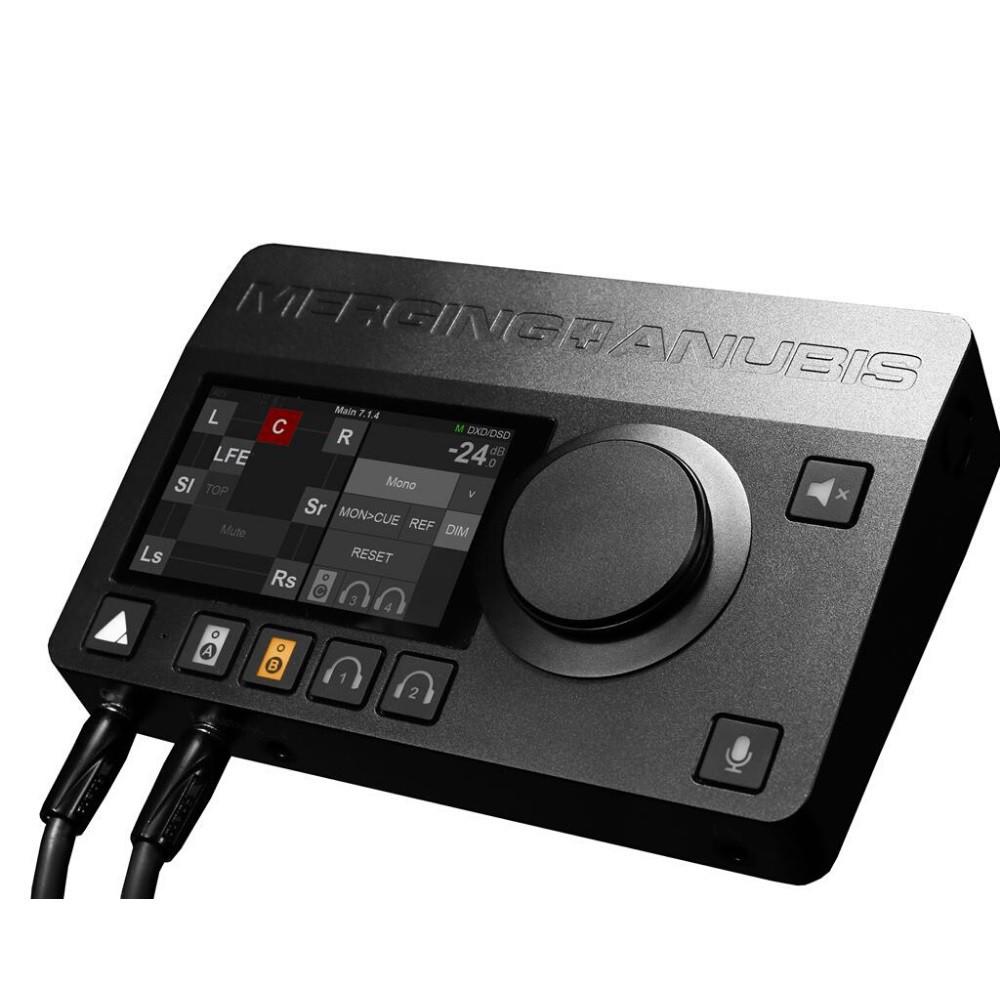 MERGING TECHNOLOGIES ANUBIS PREMIUM SPS 網路 錄音介面 監聽控制器 總代理公司貨