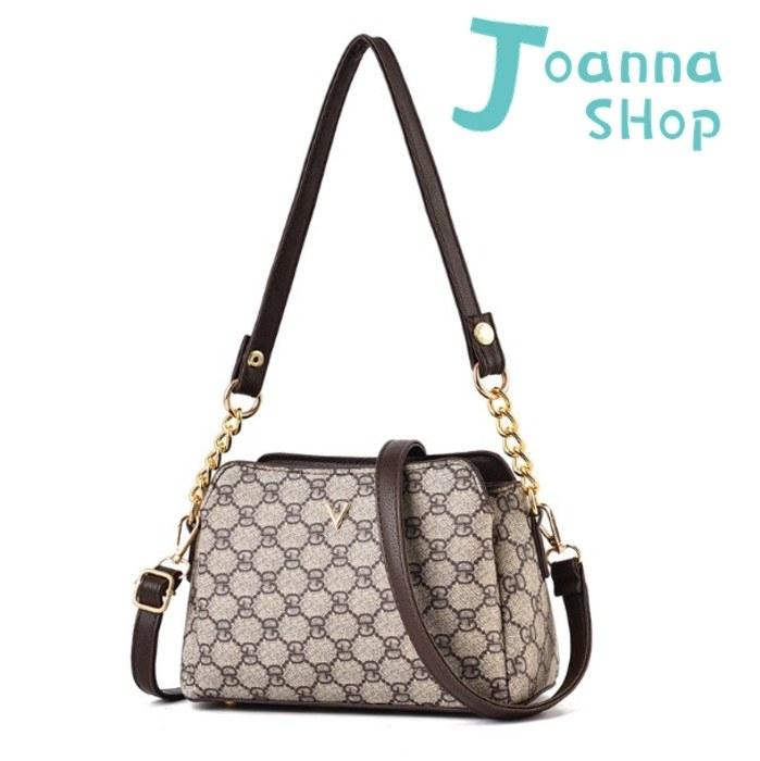 經典CG紋逛街SHOPPING肩背斜背雙用包1-Joanna Shop
