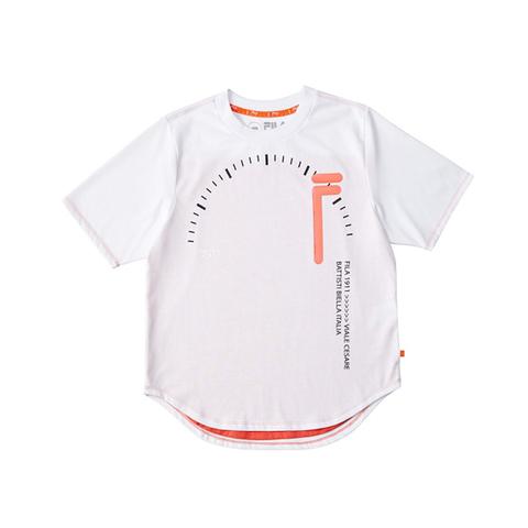 FILA 短袖T恤-白色 5TEV-1810-WT