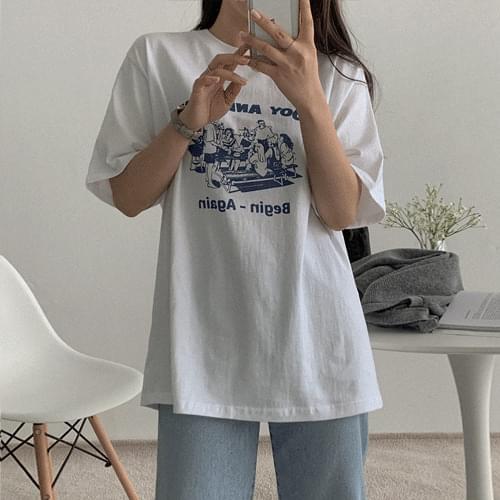 韓國空運 - Biggin T-shirt 短袖上衣