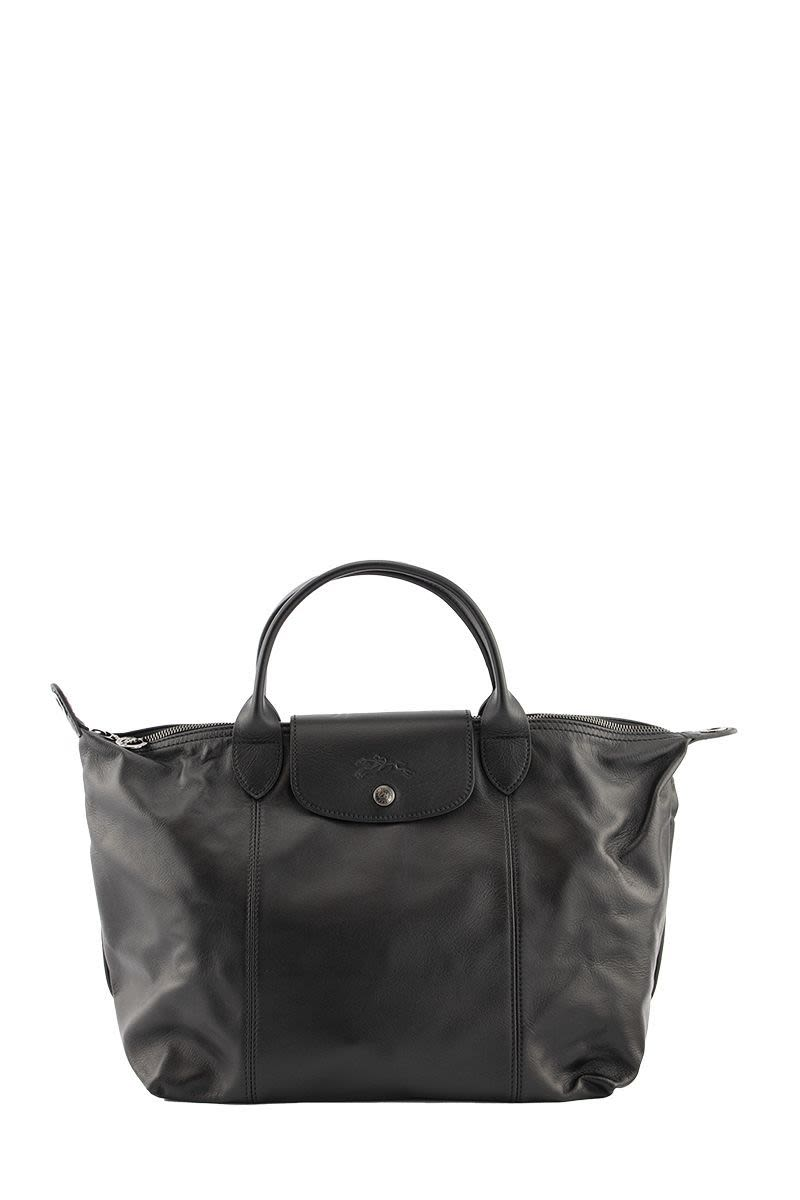 LONGCHAMP LE PLIAGE CUIR - Top Handle Bag M