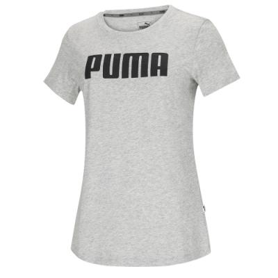 【PUMA官方旗艦】基本系列PUMA短袖T恤 女性 85478203