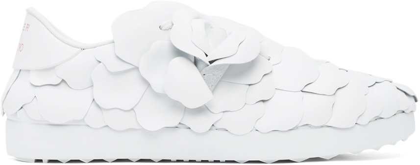 Valentino Garavani 白色 03 Rose Edition Atelier 系列 Petal 运动鞋