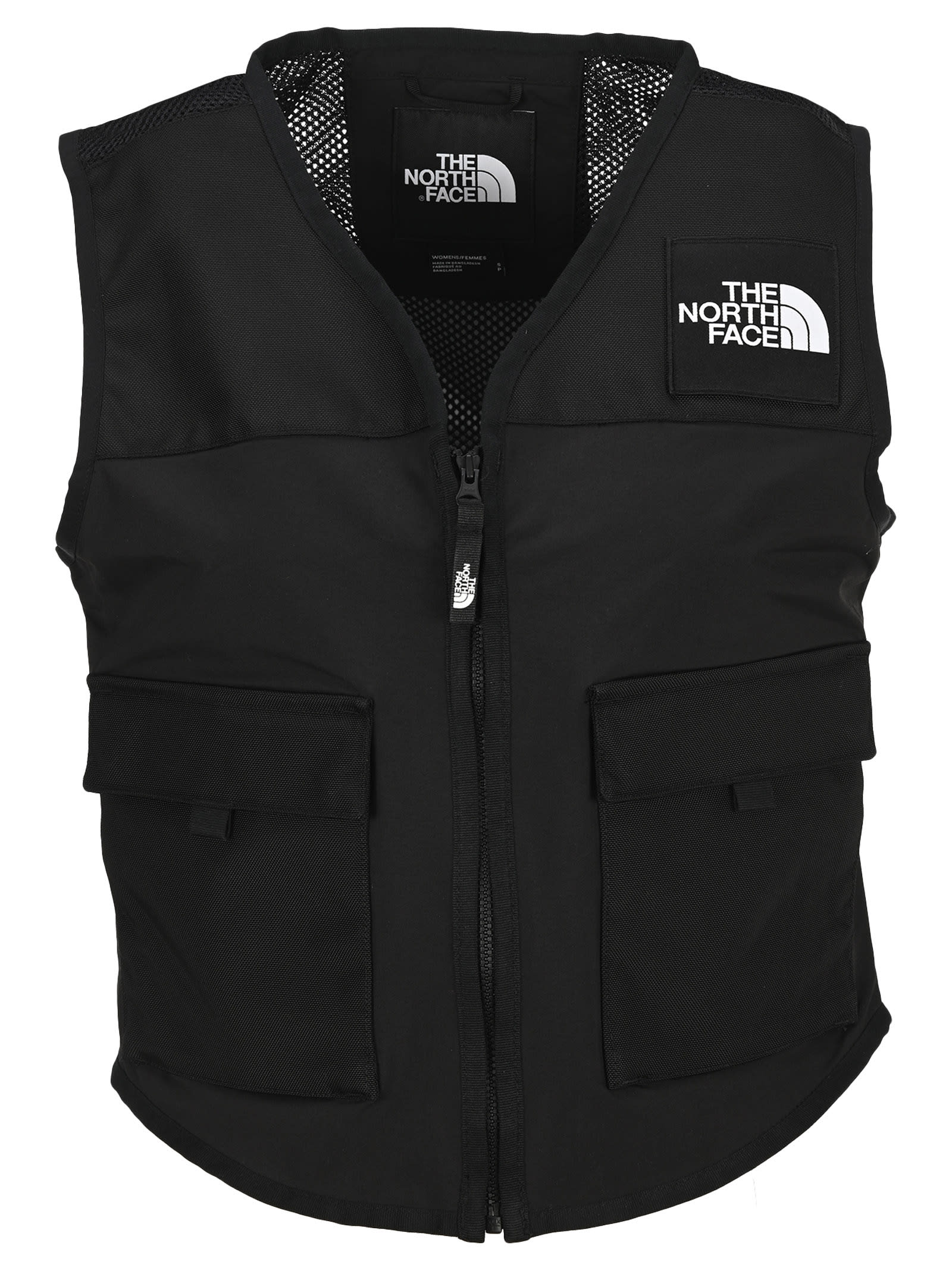 North Face Black Utility Gilet