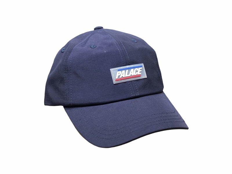 Palace 鴨舌尼龍帽 深藍色