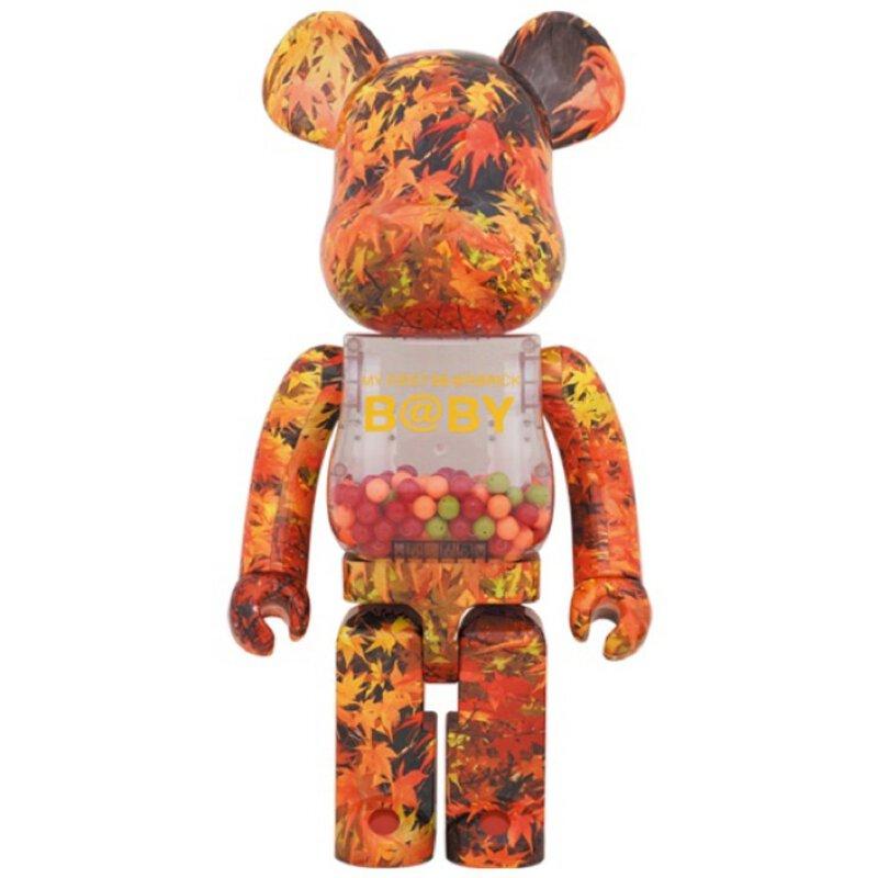 BE@RBRICK My First Bearbrick Baby 楓葉 千秋 1000%