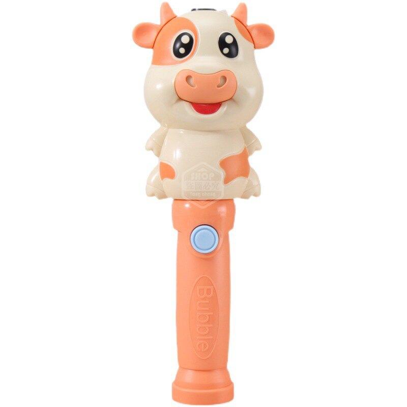 ✿維美‧台灣現貨✿ 萌牛泡泡機(3款可選 贈送電池) 自動泡泡棒 吹泡泡玩具