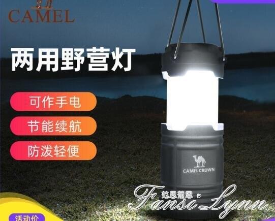 駱駝戶外野營燈兩用節能露營燈應急照明燈帳篷燈地攤便攜經濟掛燈