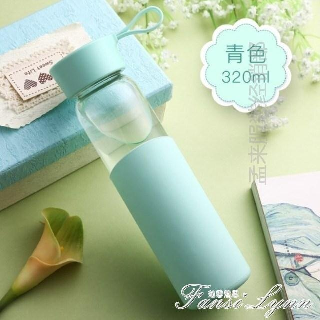 玻璃杯女便攜可愛創意韓版水瓶茶杯學生個性隨手韓國清新簡約水杯