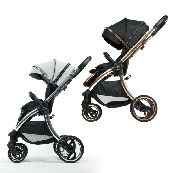 【預購5月底到貨】hyBrid core premium 嬰兒推車|手推車(星空/極致灰) 全館滿5千贈星寶貝防曬乳效期至21年11月