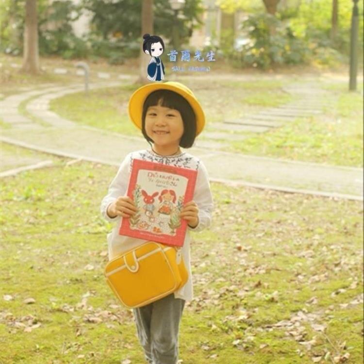 兒童幼稚園書包 迷你包 客製化男女兒童斜背包單肩包幼稚園小黃包寶寶幼稚園春游書包