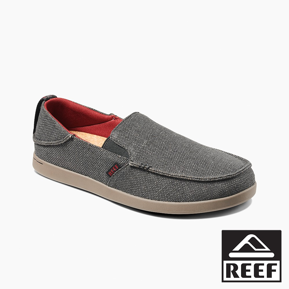 REEF 懶人兩用系列舒適好穿防滑男款休閒鞋 - 黑/紅 S21 RF0A3YLBBEY 廠商直送 現貨