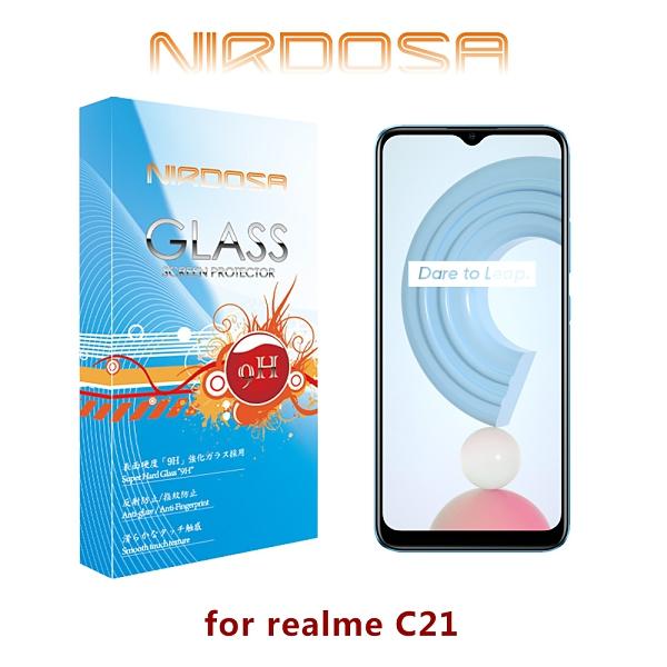 快速出貨 NIRDOSA realme C21 9H 鋼化玻璃 螢幕保護貼