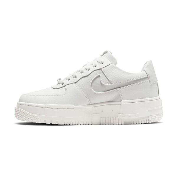 【NIKE】W AF1 PIXEL 休閒鞋 解構 質感 簡約 白 女鞋 -CK6649102