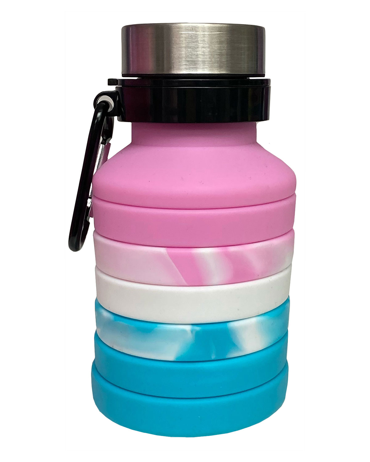 Ombre Collapsible Silicone Water Bottle