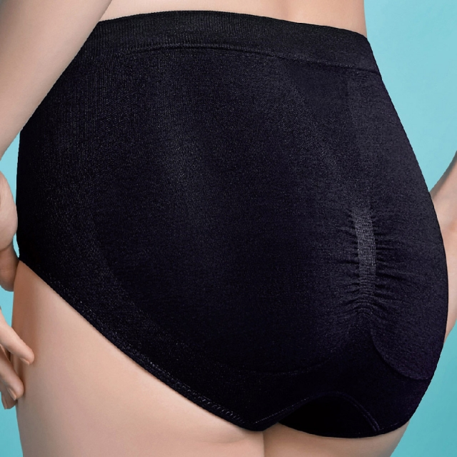 【華歌爾】夢幻S曲線修飾褲 64-76-NE1312BL